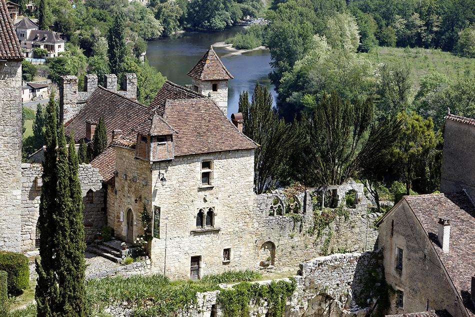 Le musée Rignault au coeur du village de Saint Cirq Lapopie